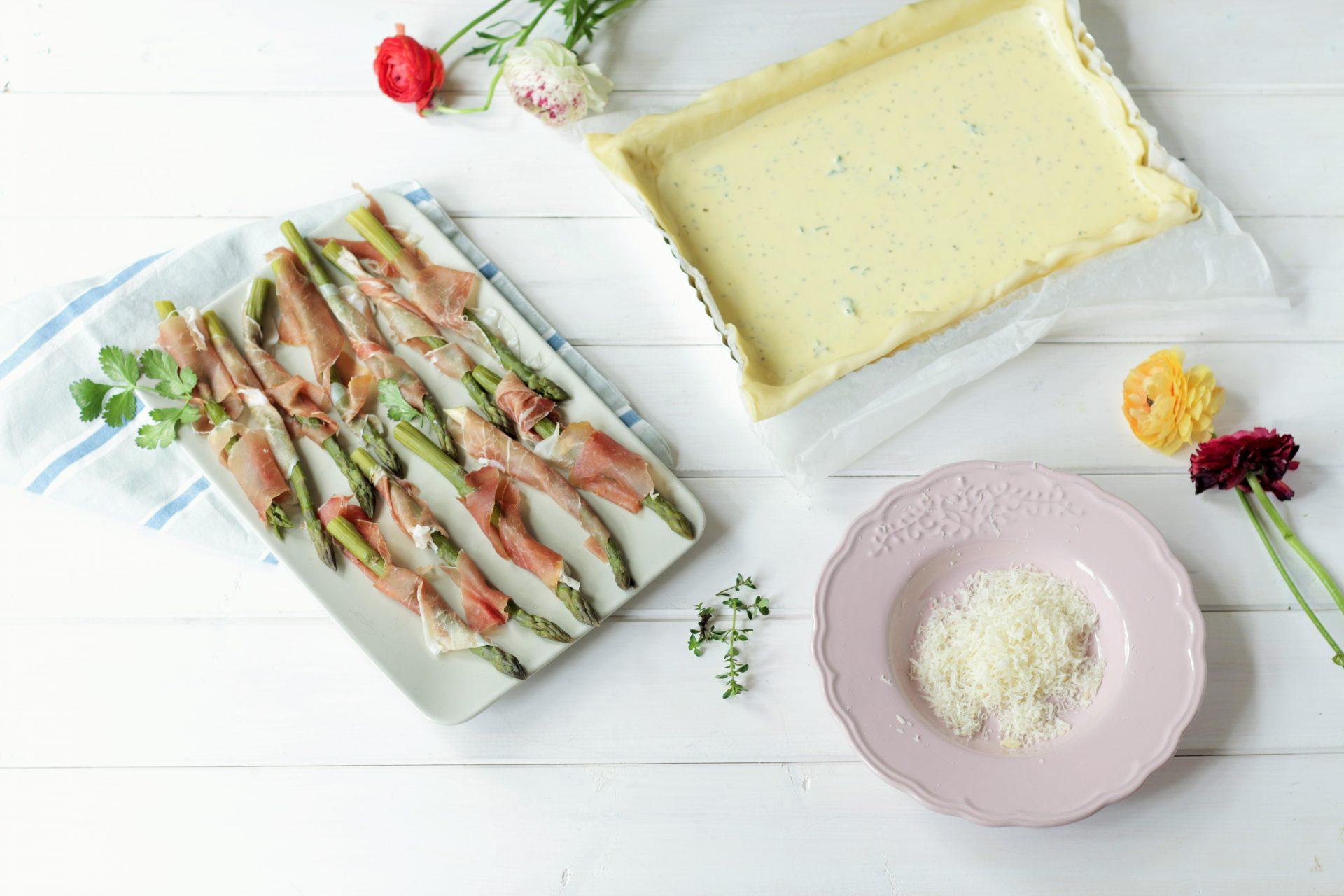 preparazione torta salata