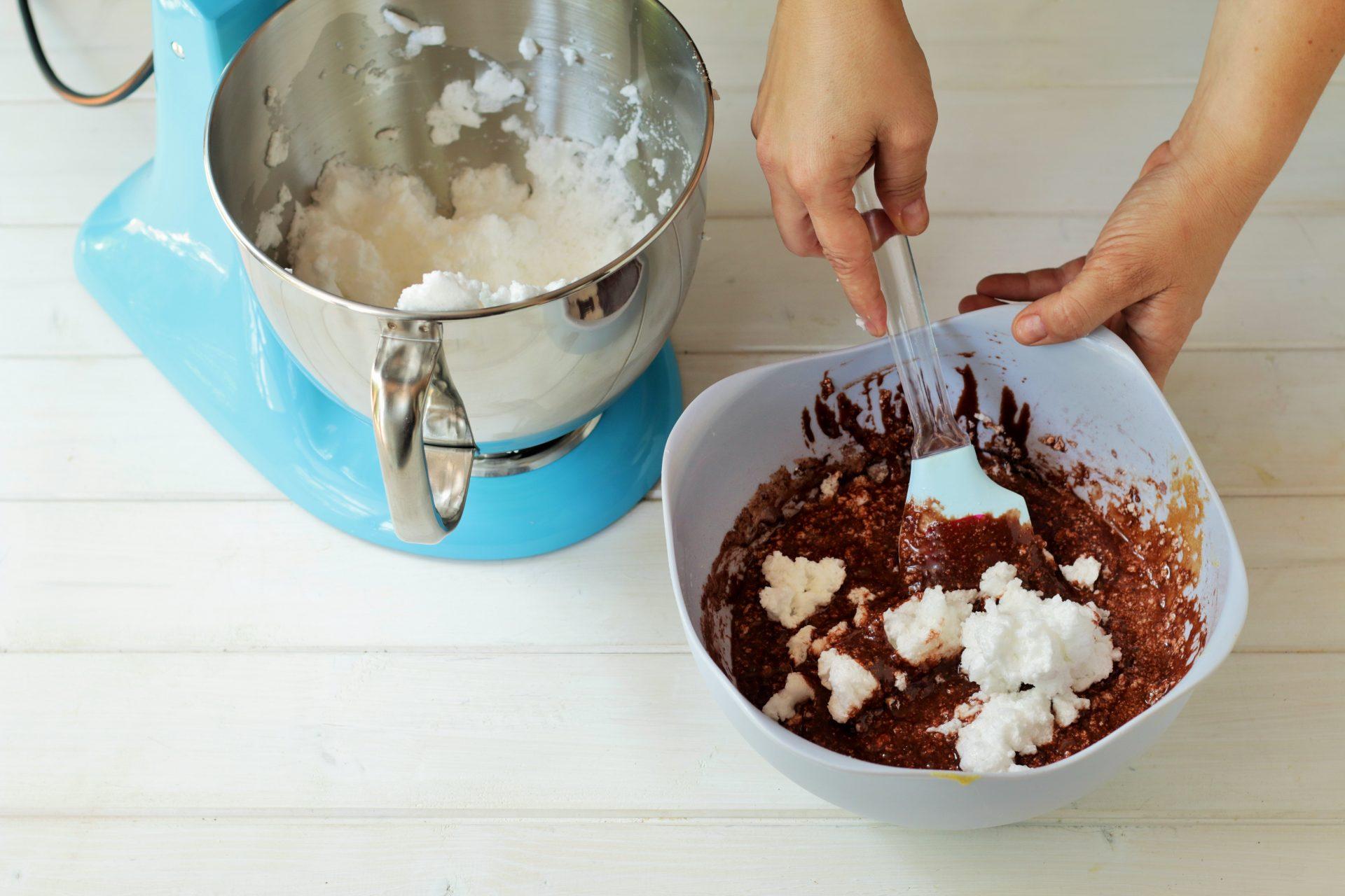preparazione chiffon cake
