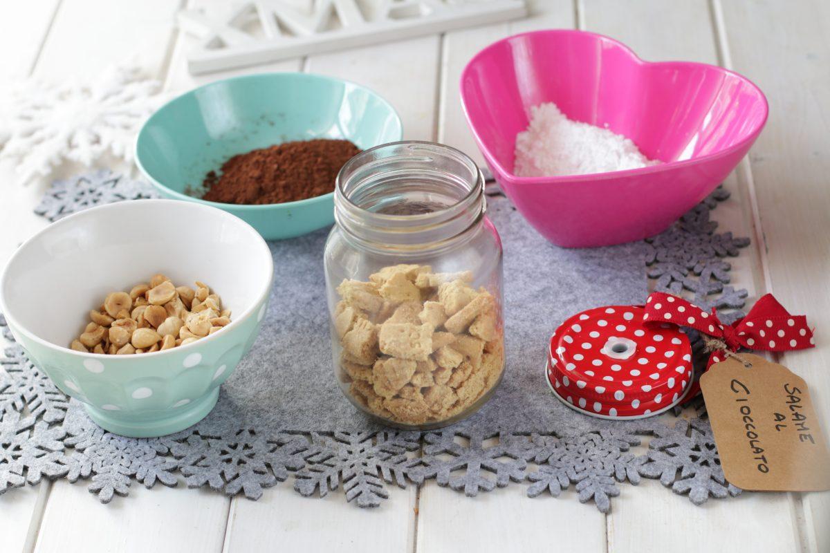 preparato per salame al cioccolato