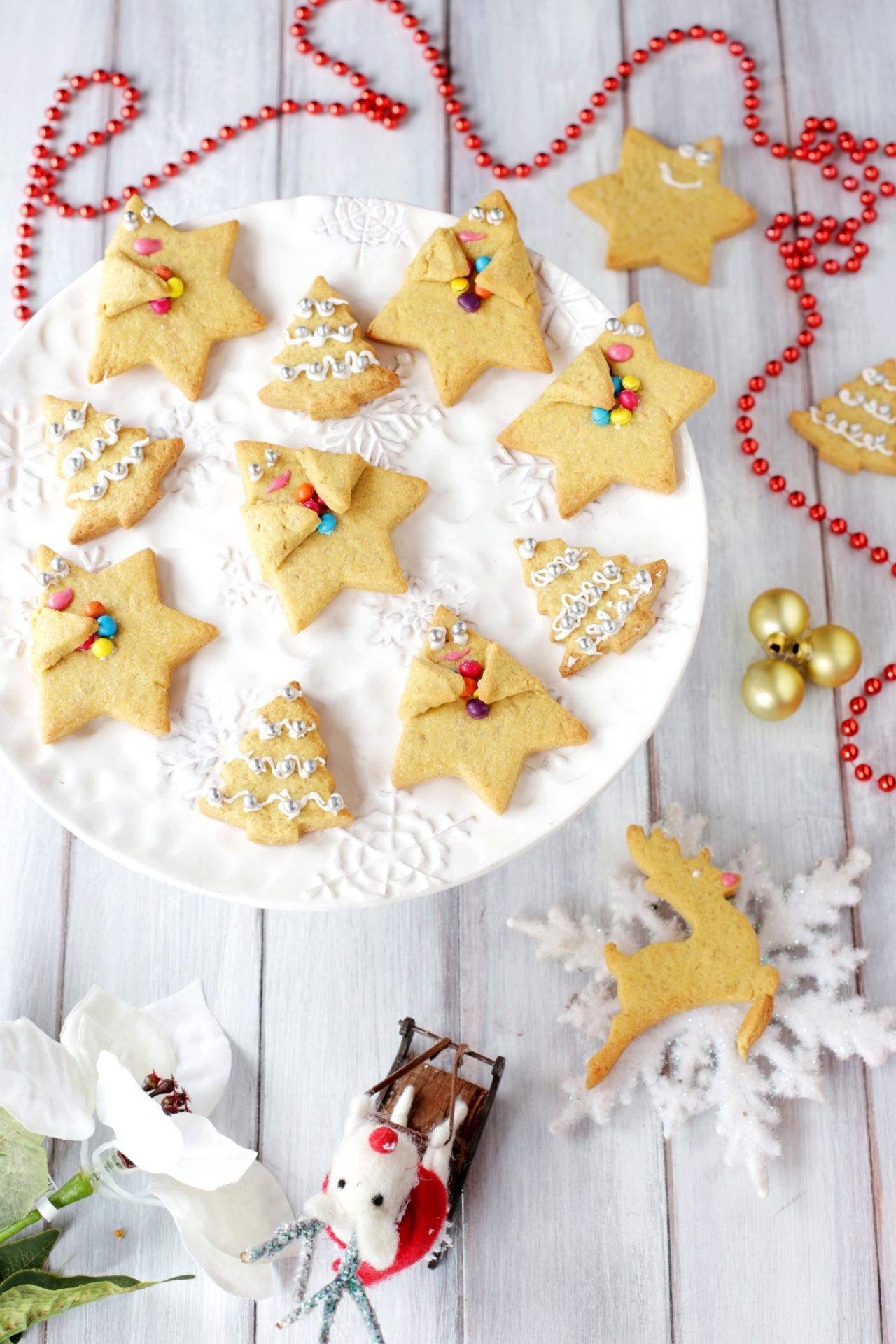 Biscotti Di Natale Al Miele.Biscotti Di Natale Miele E Cannella Mamma Gy