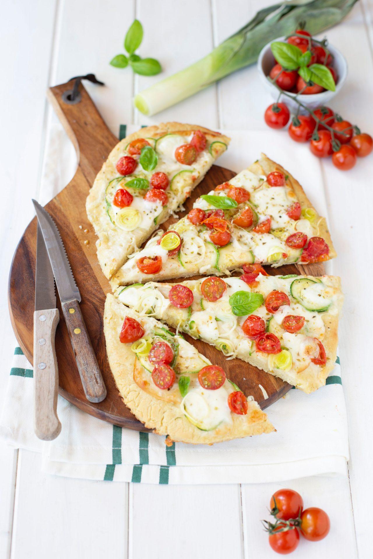 Ricetta Pasta Con Farina Di Quinoa.Pizza Alla Quinoa Senza Glutine Fatta In Casa